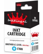 Brother LC-225XL Cyan inkking