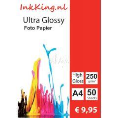 glossy photopapier 250gr A4