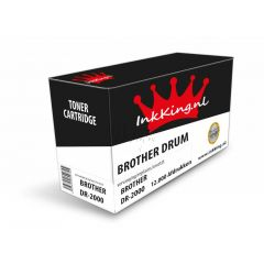 Brother dr-2000 inkking