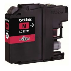 brother lc-123m magenta refill inkking