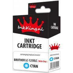 brother lc-125xlc cyan inkking