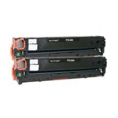 Non-Genuine HP 125A CB540AD Toner Black 2x 2.2k Inkking