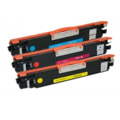 Non-Genuine HP-126A Color Multipack C/M/Y Inkking