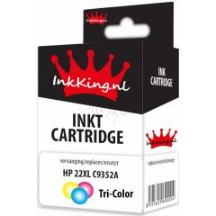 HP 22xl C9352A color inkking