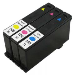 Non-Genuine LEXMARK 100XL 14N10850E Multipack Color Inkking