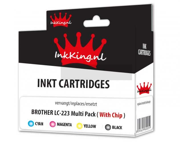 brother lc-223 multipack inkking