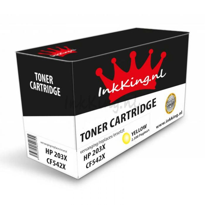 HP 203X cf542x toner Yellow