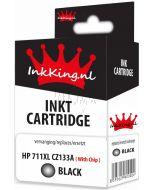 HP 711XL CZ133A cartridge black inkking