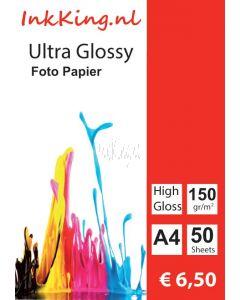 glossy photopapier 150gr A4