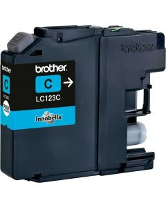 brother lc-123c cyan refill inkking