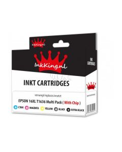 Epson 16XL T1636 multipack inkking