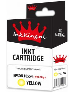 Epson t0554 yellow inkking