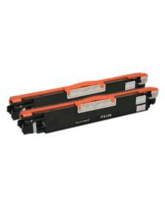 Non-Genuine  HP-126A CE310AD Toner Black 2x 1.2k  Inkking