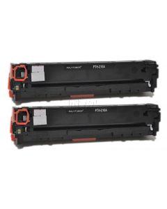 Non-Genuine HP 131A CF210AD Toner Black 2x 1.6k Inkking