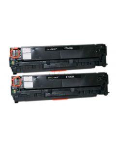 Non-Genuine  HP 304A CC530AD Toner Black 2x 3.5k Inkking