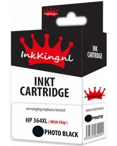 hp 364xl photo-black inkking