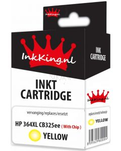 hp 364xly yellow cb325ee inkking