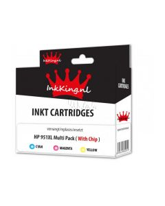 HP 951XL Multipack color inkking